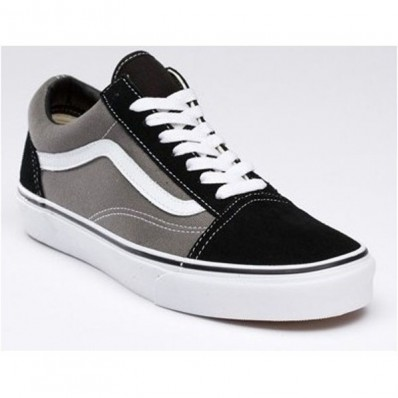 vans old school black uomo pelle