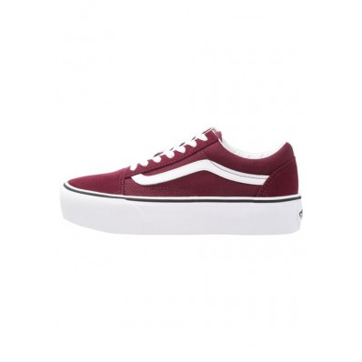 vans old skool basse bordeaux