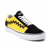 vans old skool peanuts charlie brown