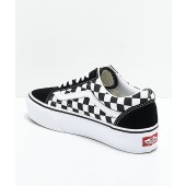 vans platform old skool checkerboard