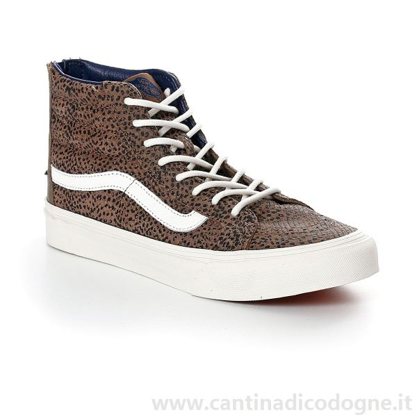vans donna base marrone
