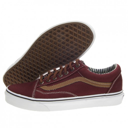 vans old skool bordeaux uomo