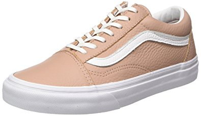 vans old skool leather sneaker donna