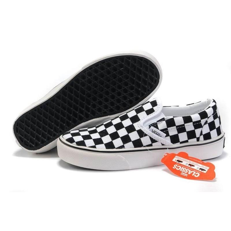 vans slip on donna bianco
